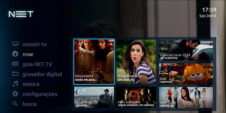 Imagem de NET apresenta nova interface na TV, a entrar em vigor a partir de maio no site TecMundo