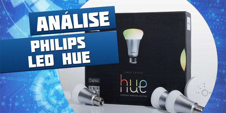 Imagem de Análise: lâmpada LED Philips hue [vídeo] no site TecMundo