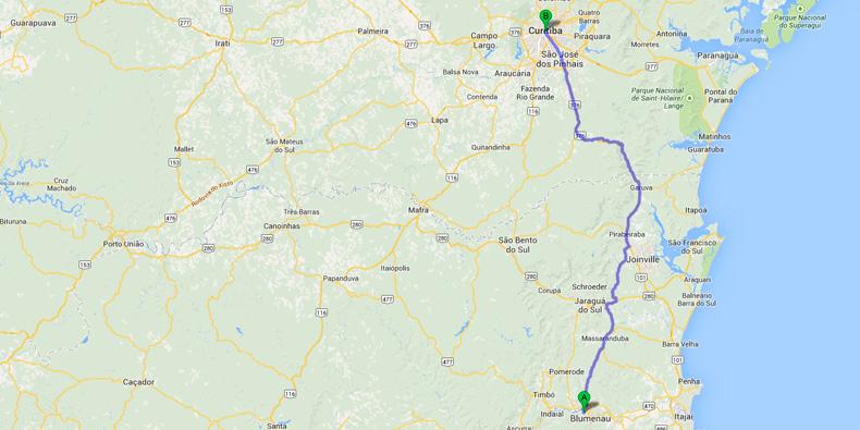 Imagem de Google Maps: Como medir a distância entre dois locais no site TecMundo