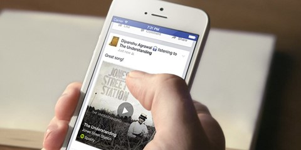 Imagem de App do Facebook poderá identificar qual música você está escutando no site TecMundo