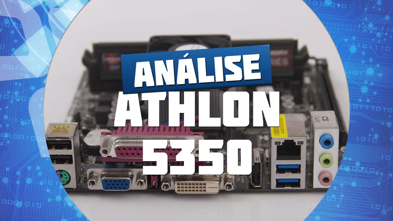 Imagem de Análise: Testamos a APU AMD Athlon 5350 no site TecMundo