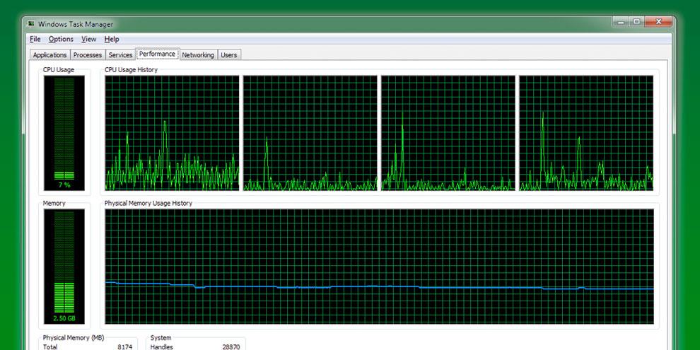 Imagem de Windows: aprenda a monitorar o desempenho de seu sistema no site TecMundo