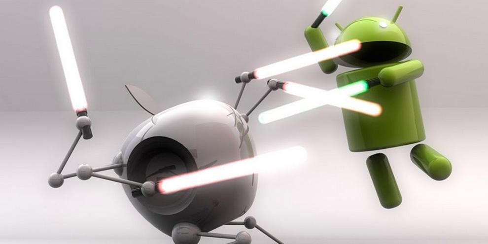 Imagem de Apple alfineta Android durante revelação do iOS 8 no site TecMundo