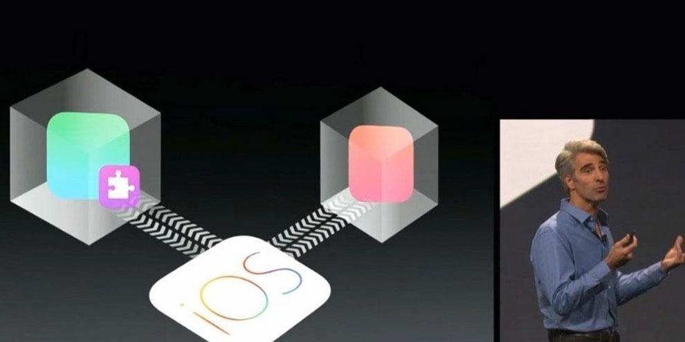 """Imagem de iOS 8 permitirá widgets e que aplicativos """"conversem"""" entre si no site TecMundo"""