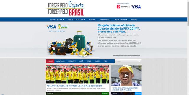 13ffc73b70 labCorp lança site de esportes  Torcer pelo Esporte