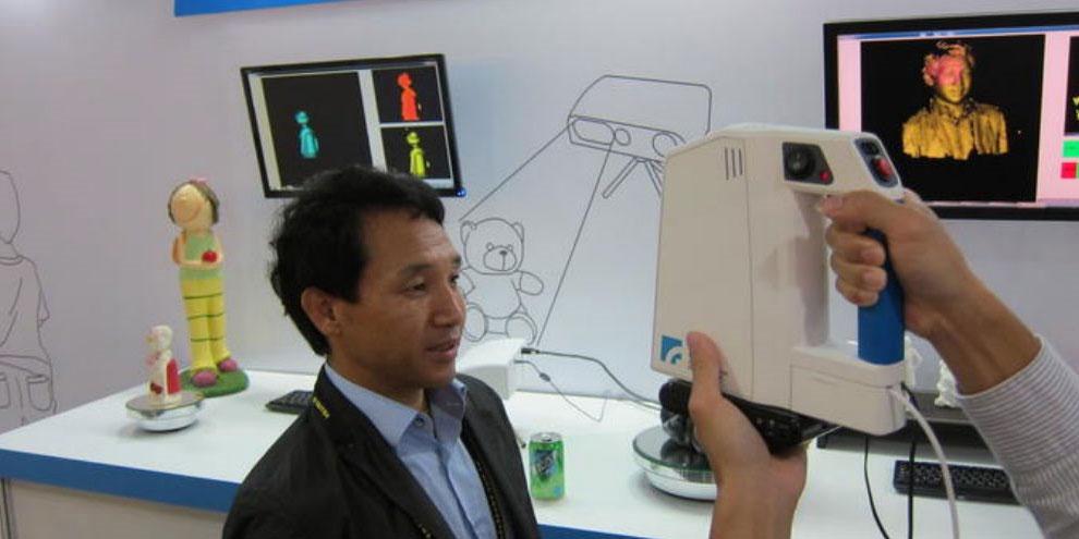 Imagem de Scanner portátil cria moldes 3D de qualquer coisa no site TecMundo