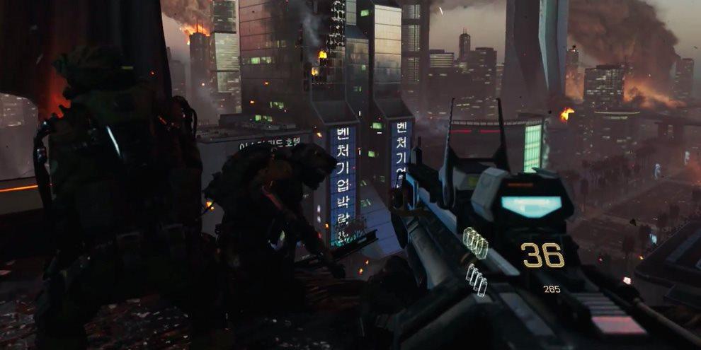Imagem de Call of Duty: Advanced Warfare ganha oito minutos de gameplay na E3 no site TecMundo