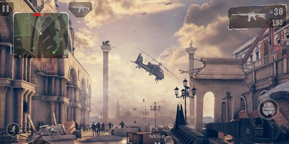 """Imagem de Gameloft fará streaming de """"Modern Combat 5"""" nesta terça-feira no site TecMundo"""