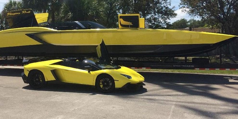 Imagem de Ricaço constrói lancha de R$ 3 milhões que é réplica de uma Lamborghini no site TecMundo