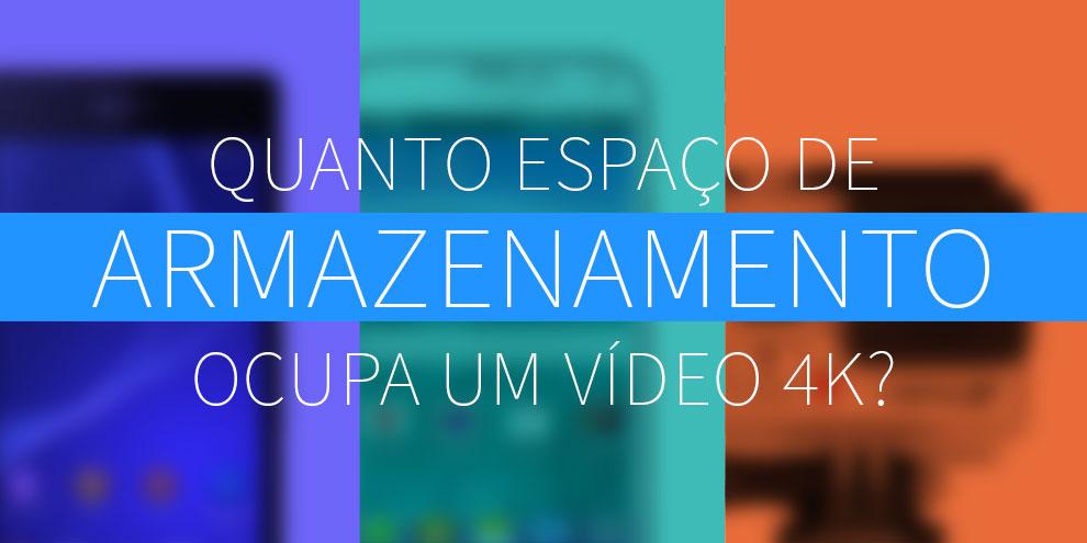 Imagem de Quanto espaço de armazenamento ocupa um vídeo 4K? no site TecMundo