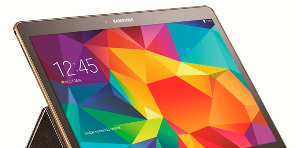 Imagem de Samsung revela Galaxy Tab S em dois tamanhos e com capa que vira teclado no site TecMundo