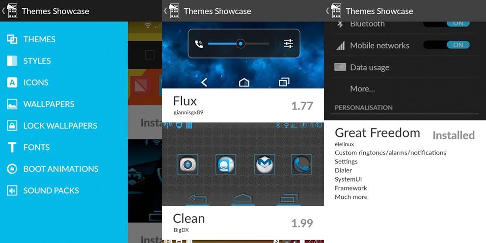 Imagem de Novo app para CyanogenMod permite personalização profunda no site TecMundo