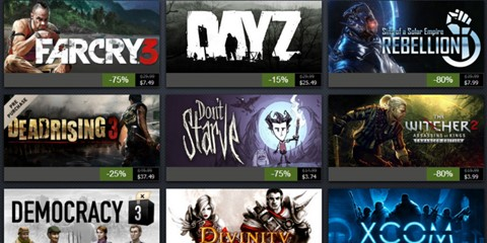 Imagem de Confira as ofertas do primeiro dia da Promoção de Férias do Steam no site TecMundo