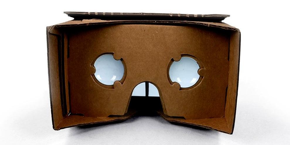 Imagem de Cardboard, o óculos de papelão da Google para enxergar realidade virtual no site TecMundo