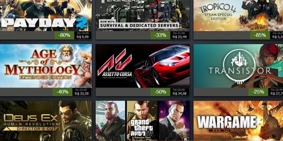 Imagem de Confira as ofertas do nono dia da Promoção de Férias do Steam no site TecMundo