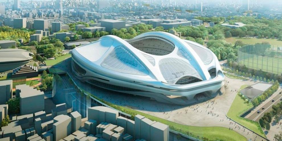 Imagem de Arena do Japão para Olimpíadas de 2020 muda por ser cara e grande demais no site TecMundo