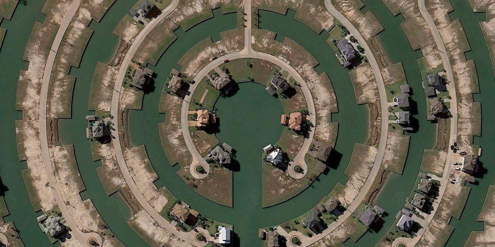 Imagem de 30 imagens impressionantes que você pode encontrar no Google Earth no site TecMundo