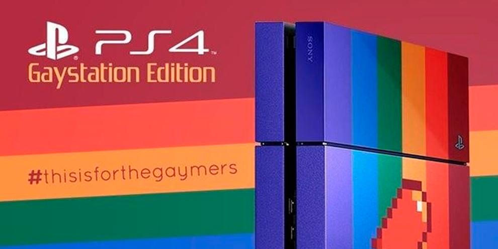 """Imagem de Conheça a edição """"GayStation"""" do PS4 – um console para gaymers no site TecMundo"""
