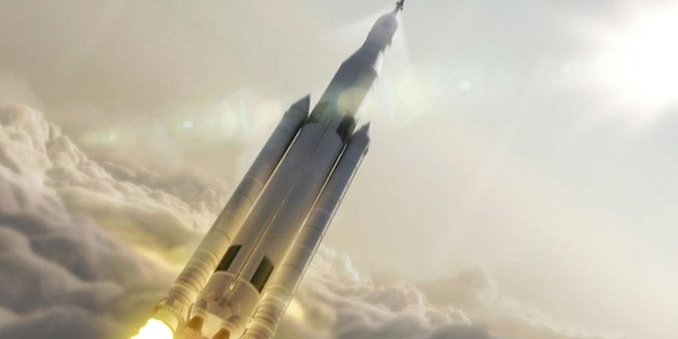 Imagem de NASA vai construir o foguete mais poderoso do mundo até 2018 no site TecMundo