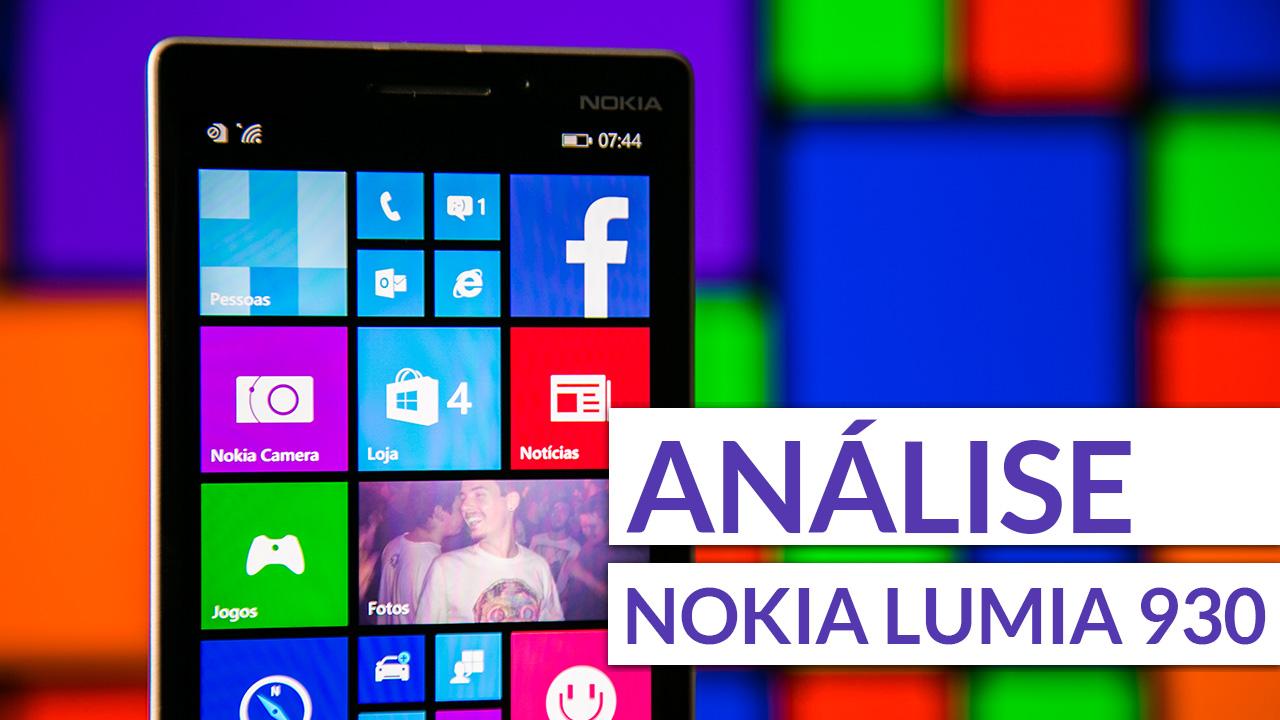 Imagem de Análise: smartphone Nokia Lumia 930 [vídeo] no site TecMundo