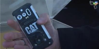 Imagem de Conferimos de perto o celular contra acidentes da Caterpillar [vídeo] no site TecMundo