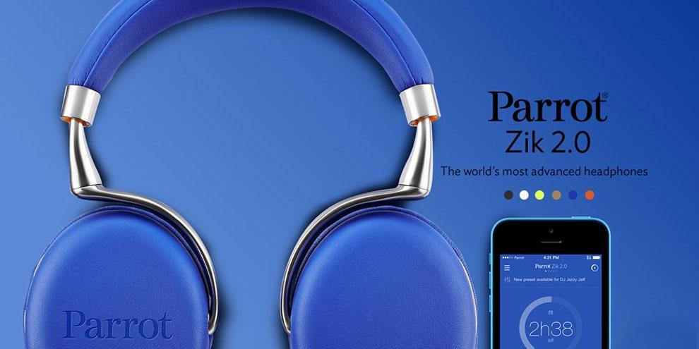 Imagem de Novo fone da Parrot parece o sonho de qualquer apaixonado por música no site TecMundo
