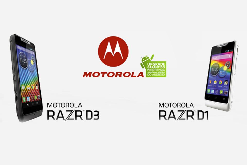 Imagem de Motorola Razr D1, D3 e HD ganham atualização para o Android KitKat no site TecMundo
