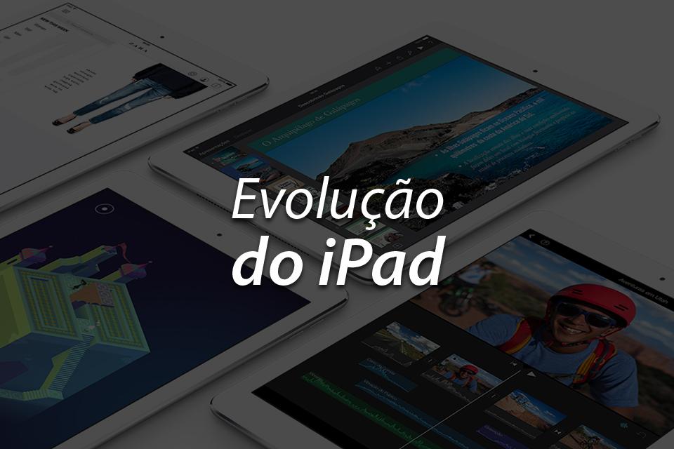 Imagem de A evolução do iPad no site TecMundo
