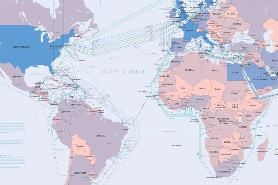 Imagem de Novo cabo submarino anti NSA deve ligar Brasil e Portugal no site TecMundo