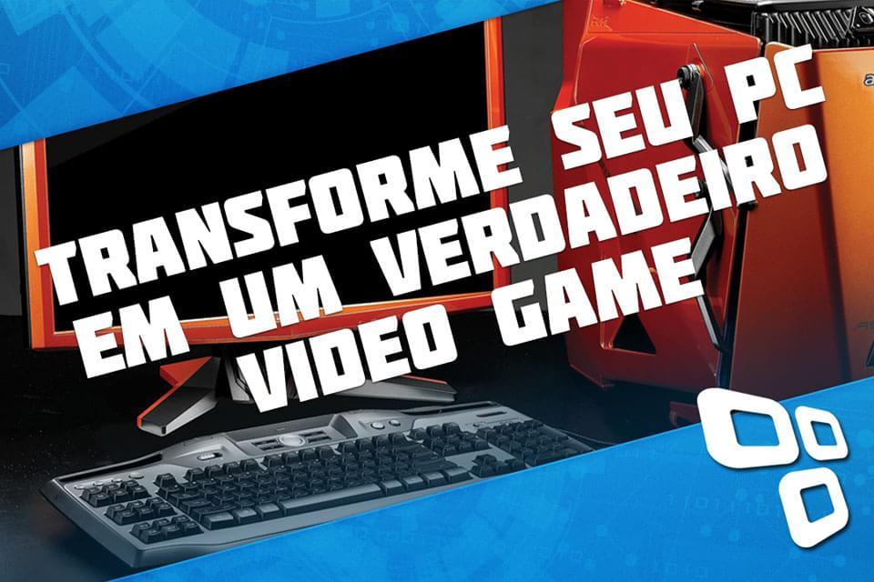 """Imagem de 8 passos para transformar o seu PC em um verdadeiro """"video game"""" [vídeo] no site TecMundo"""