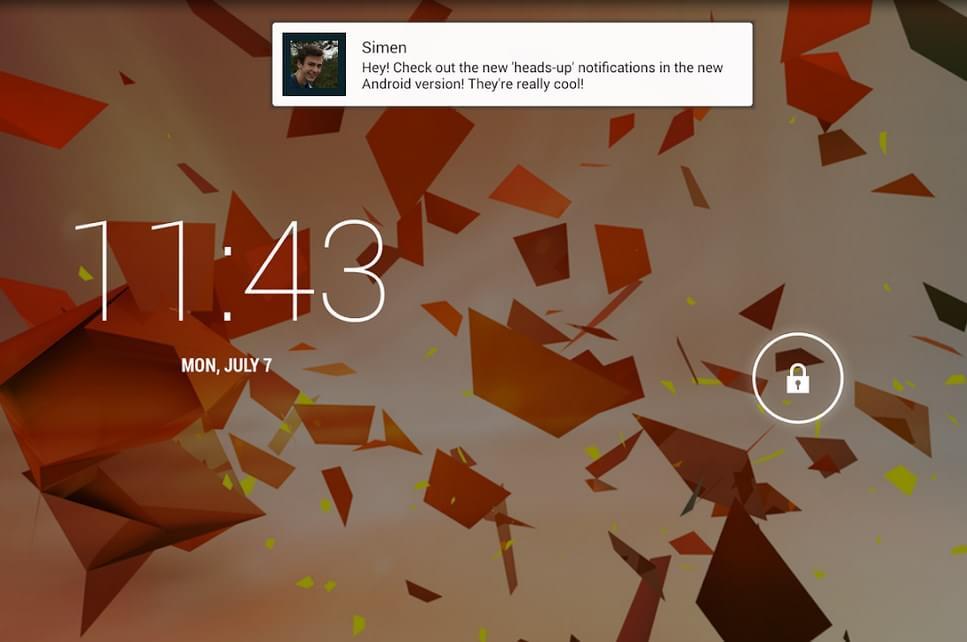 Imagem de App simula sistema de notificações do Lollipop em qualquer Android no site TecMundo