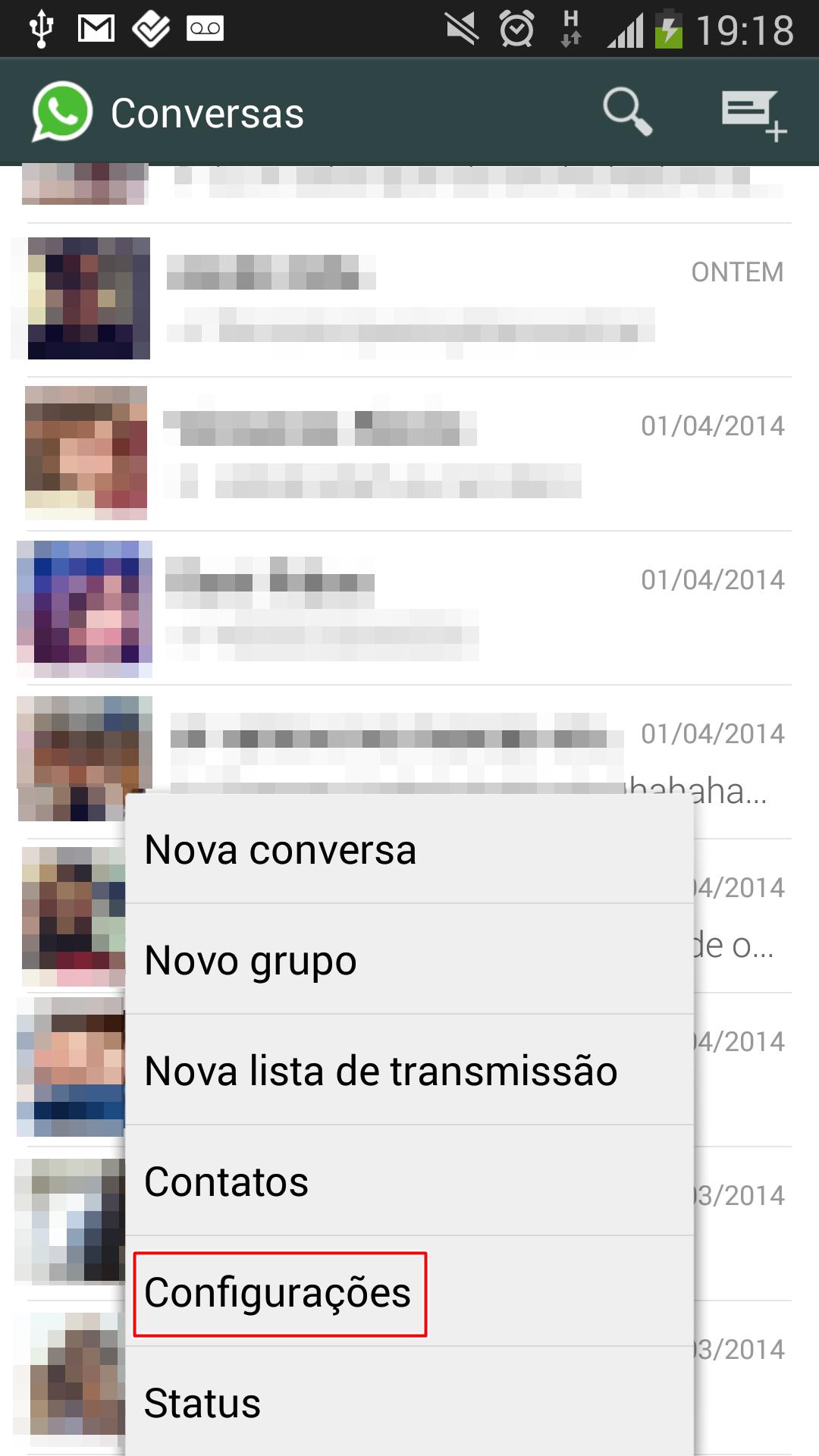 como nao salvar fotos do whatsapp no iphone