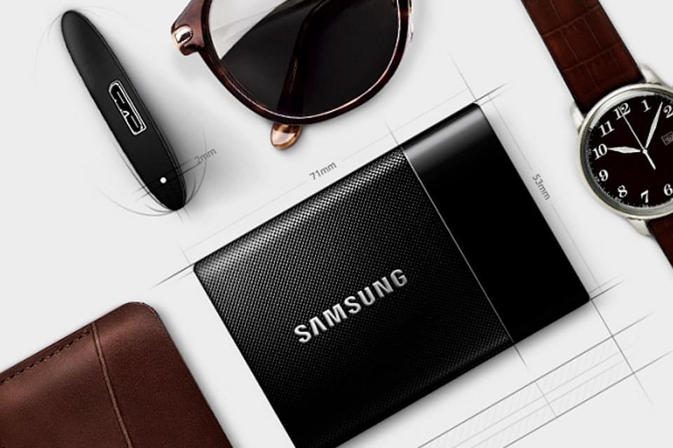 Imagem de T1: Samsung apresenta o pequeno e mais poderoso SSD portátil do mundo no site TecMundo