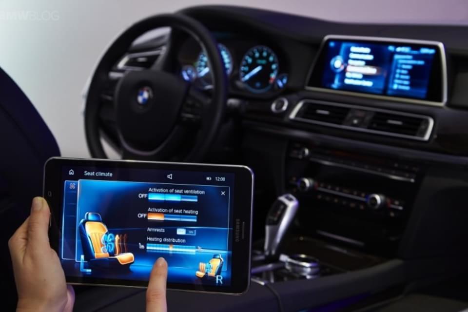 Imagem de Carros da BMW terão tablet Samsung como segunda tela e controle gestual no site TecMundo