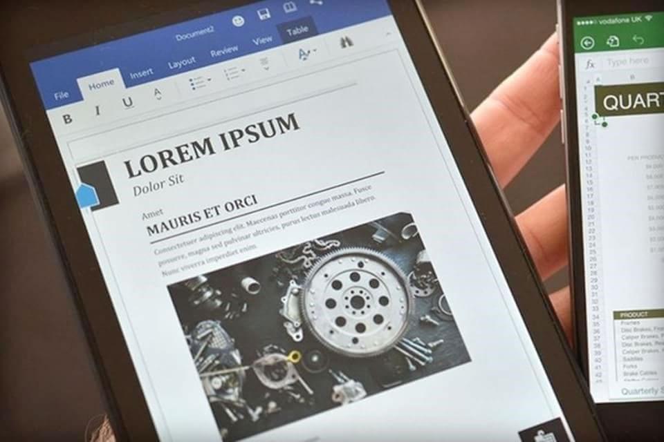 Imagem de Microsoft lança versões de testes do Word, Excel e PowerPoint para tablets no site TecMundo