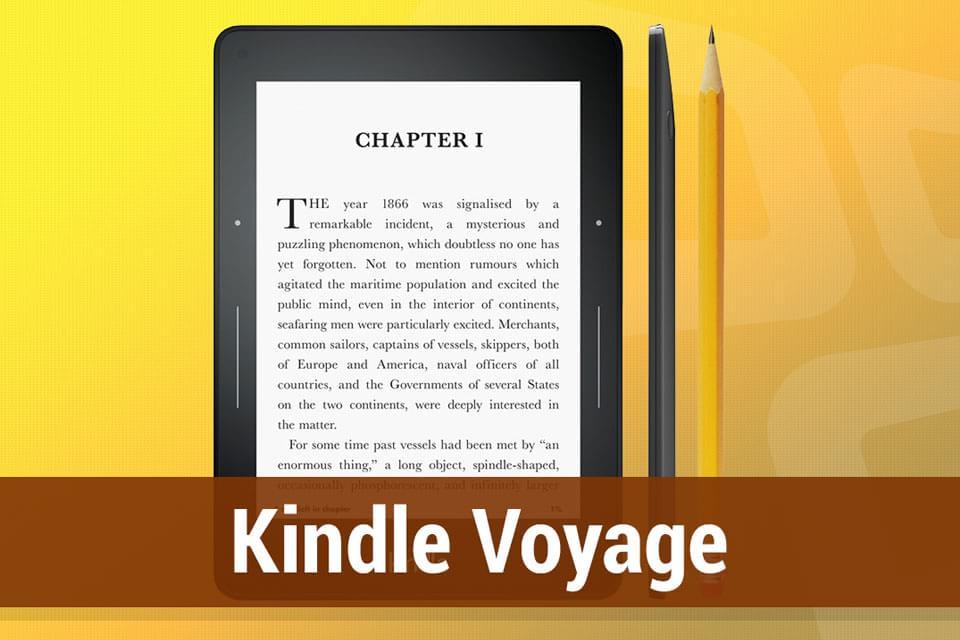 Imagem de Análise: leitor digital de ebooks Amazon Kindle Voyage [vídeo] no site TecMundo