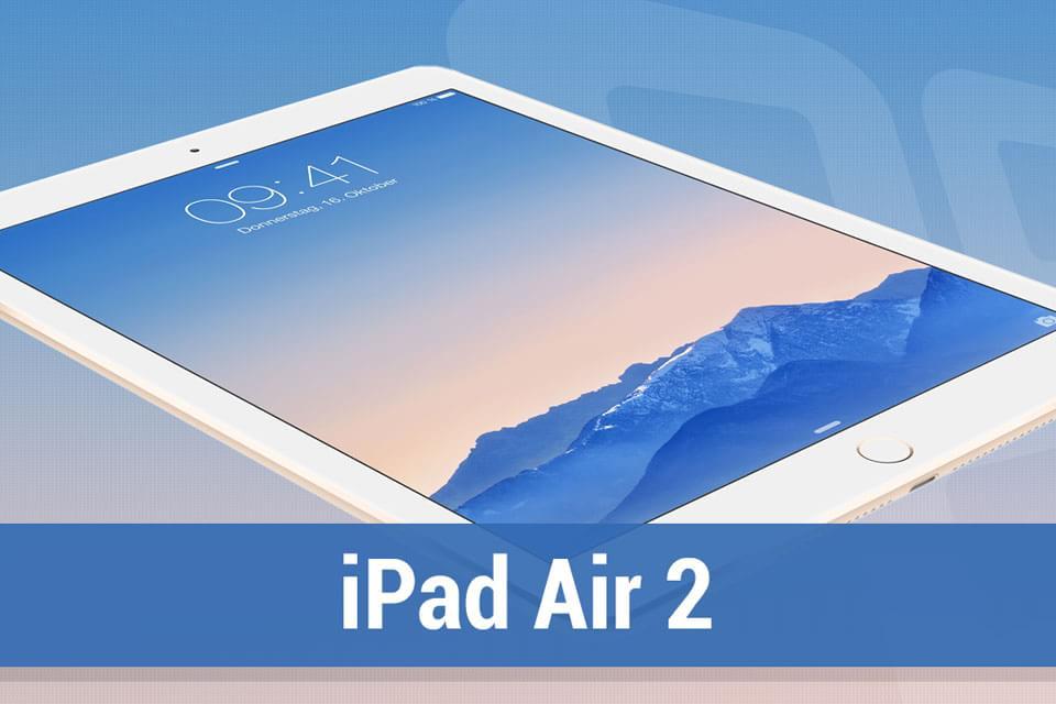 Imagem de Análise: tablet Apple iPad Air 2 [vídeo] no site TecMundo