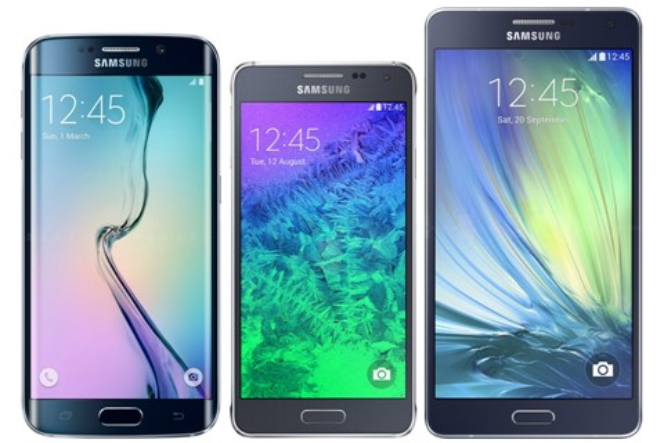 Imagem de Veja uma comparação e descubra o tamanho real do Galaxy S6 edge no site TecMundo