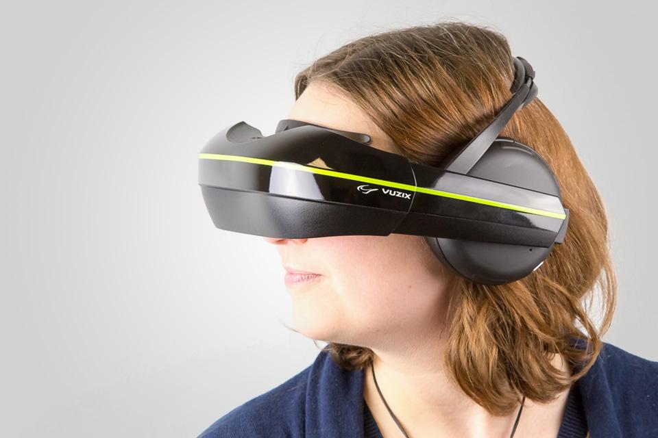 Imagem de Vuzix anuncia visor de realidade virtual com headphone integrado no site TecMundo