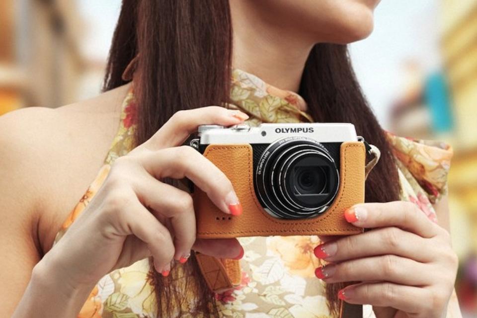 Imagem de Olympus Stylus SH-2 é câmera compacta com look retrô no site TecMundo