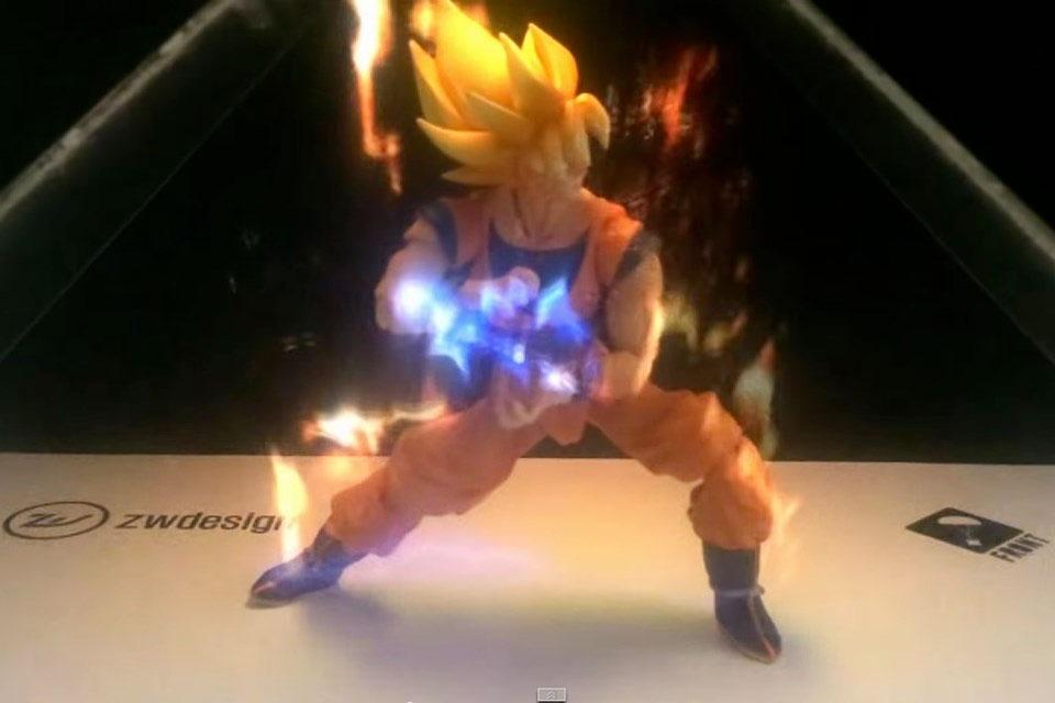 Imagem de Sonho de consumo: Display Holográfico dá vida ao Kamehameha de Goku [vídeo] no site TecMundo