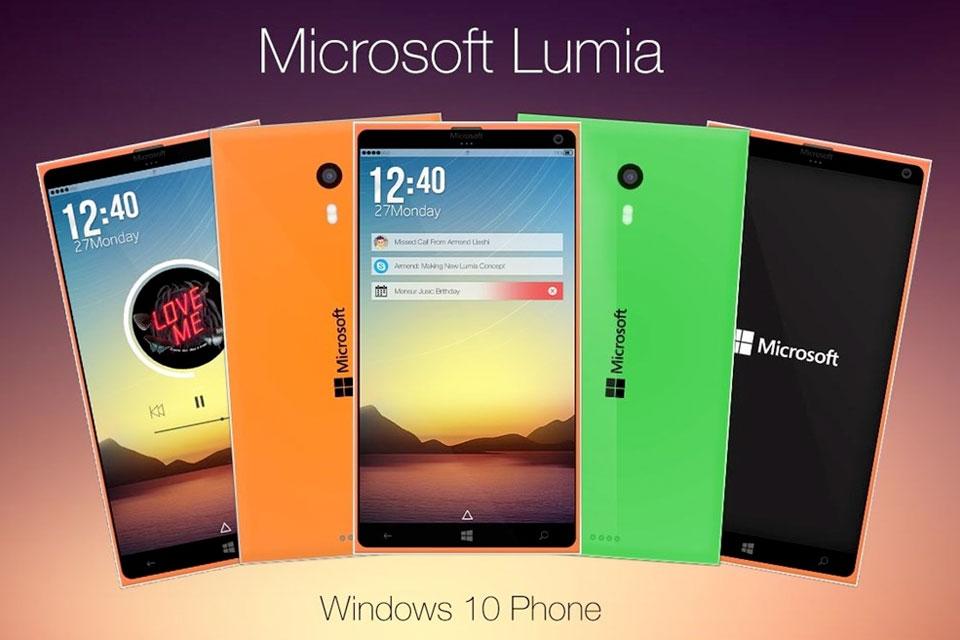 Imagem de Lumia 940 pode ter leitor de íris e função dock para funcionar como um PC no site TecMundo