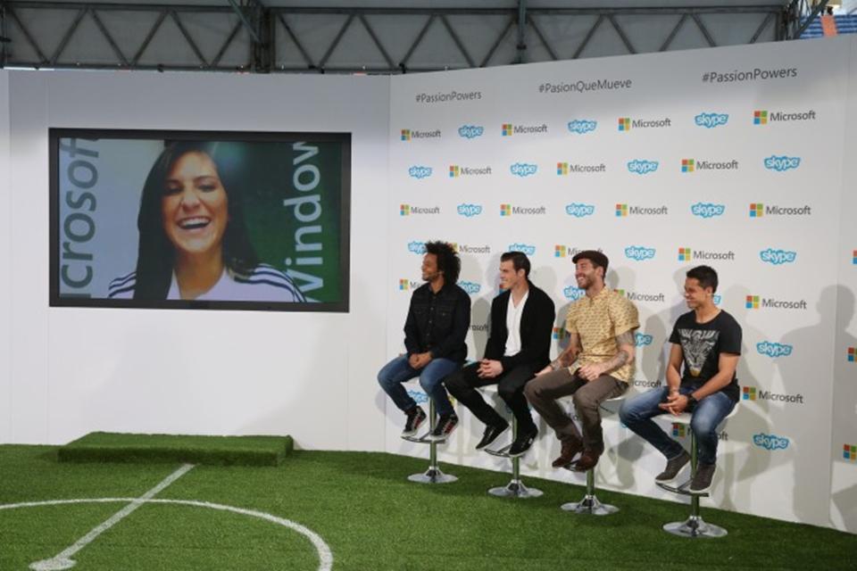 Imagem de Microsoft escolhe 12 fãs para falar com jogadores do Real Madrid via Skype no site TecMundo
