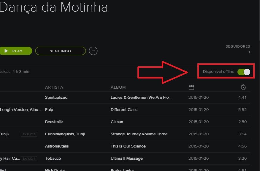 Spotify: como escutar música no modo offline - TecMundo