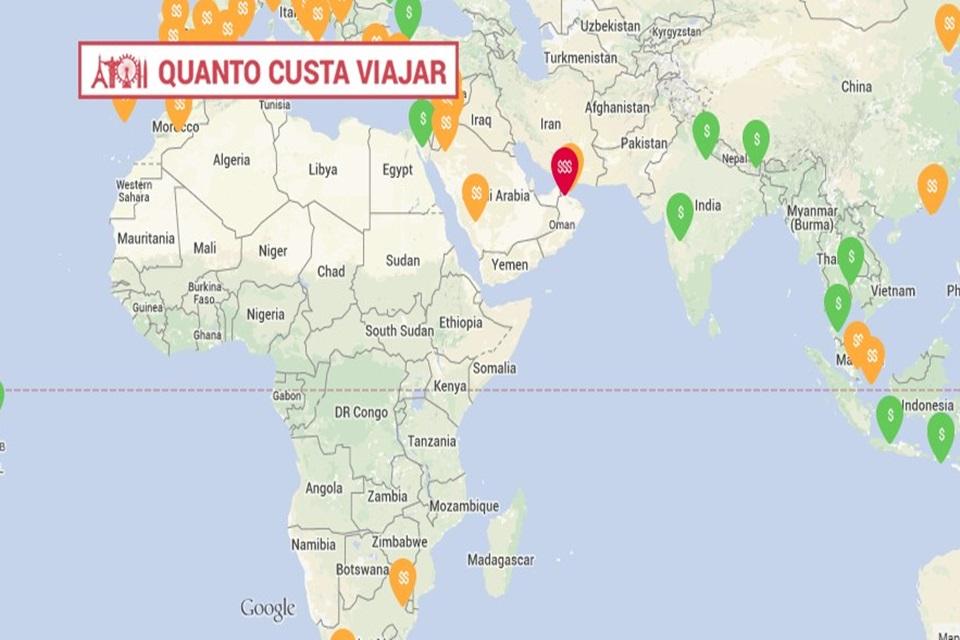 Imagem de Quanto Custa Viajar: site mostra quais os gastos para ir ao exterior no site TecMundo