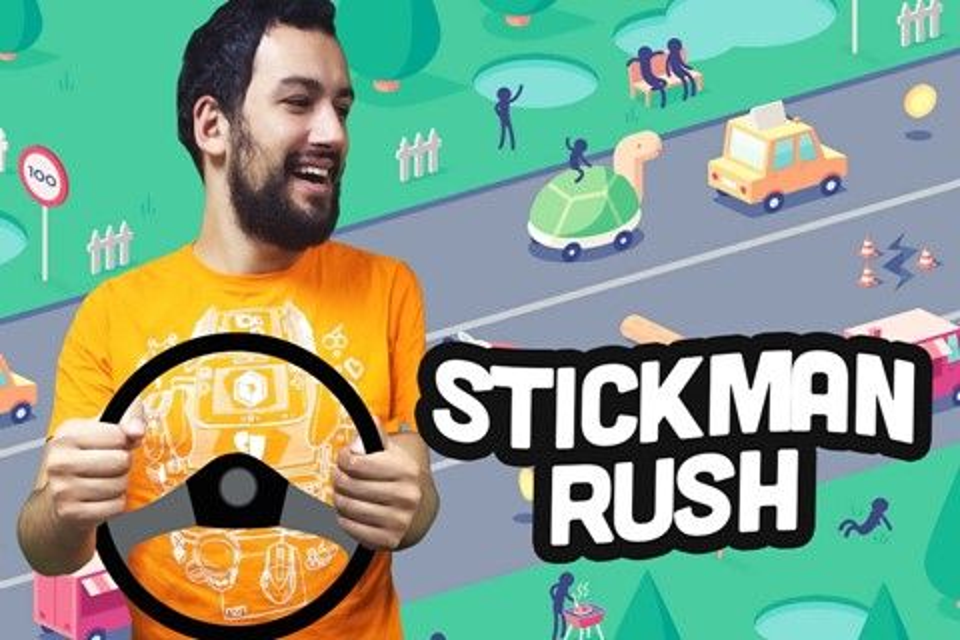 Imagem de Jogatina de Bolso: quão longe você consegue ir na estrada de Stickman Rush? no site TecMundo
