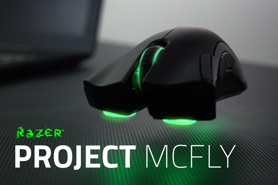 Imagem de Project McFly: brincadeira da Razer cria mouse que 'elimina' a fricção no site TecMundo