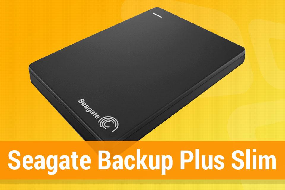 Imagem de Análise: HD Externo Seagate Backup Plus Slim no site TecMundo