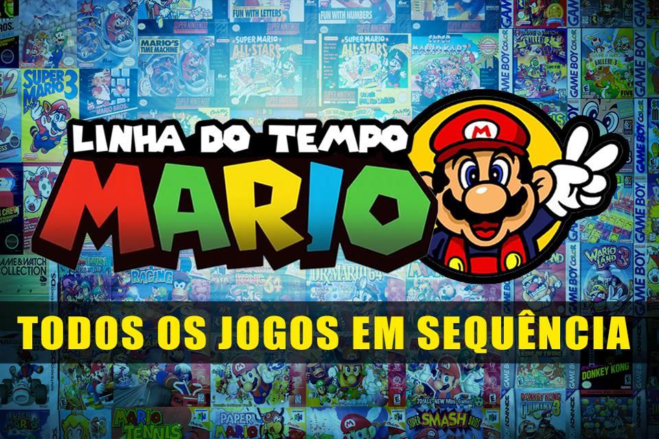 Imagem de Linha do tempo Mario: será que dá para conectar todos os jogos da franquia? no site TecMundo