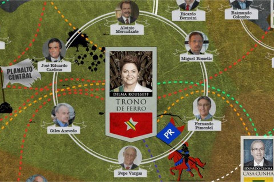 Imagem de Guerra dos Tronos real: versão de Game of Thrones da política brasileira no tecmundo